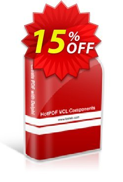 HotPDF Single License Coupon discount 15% OFF - special sales code of HotPDF Single License 2020