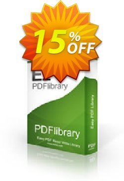 PDFlibrary Enterprise Source Coupon, discount 15% OFF. Promotion: amazing promo code of PDFlibrary Enterprise Source 2020