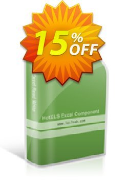 HotXLS Enterprise License Coupon, discount 15% OFF. Promotion: impressive offer code of HotXLS Enterprise License 2019