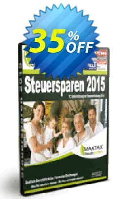 MAXTAX Steuersparen 2015 Standard Coupon, discount NEUKUNDEN-AKTION 2015. Promotion: fearsome sales code of MAXTAX Steuersparen 2015 Standard 2021