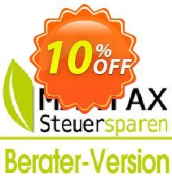 MAXTAX - Beraterversion 25 Akten Coupon, discount MAXTAX SPAR-ABO. Promotion: amazing sales code of MAXTAX - Beraterversion 25 Akten 2021