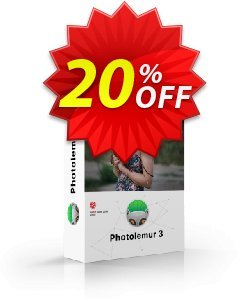 Photolemur 3 Single License Coupon, discount DEROOIJ. Promotion: formidable offer code of Photolemur 3 Single License  2019