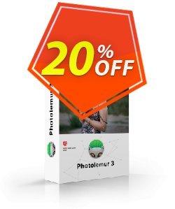 Photolemur Single License Coupon, discount DEROOIJ. Promotion: formidable offer code of Photolemur 3 Single License  2019