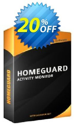 HomeGuard Activity Monitor Coupon, discount 20% off, one month. Promotion: awesome offer code of HomeGuard Activity Monitor 2019
