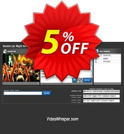 Live Video Streaming Coupon, discount Give Me Five 5% Discount. Promotion: amazing deals code of Live Video Streaming 2020