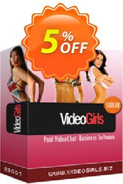 VideoGirls BiZ Turnkey PPV Video Chat Script Unlimited License Source Resell Rights Coupon, discount Give Me Five 5% Discount. Promotion: awful discount code of VideoGirls BiZ Turnkey PPV Video Chat Script Unlimited License Source Resell Rights 2020
