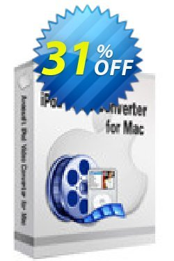 Aneesoft iPod Video Converter for Mac Coupon, discount Aneesoft iPod Video Converter for Mac special sales code 2021. Promotion: special sales code of Aneesoft iPod Video Converter for Mac 2021