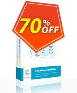 UML Diagram Maker Lifetime License Coupon, discount UML Diagram Maker Lifetime License formidable discounts code 2019. Promotion: formidable discounts code of UML Diagram Maker Lifetime License 2019