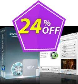 mediAvatar DVD to Apple TV Converter Coupon, discount mediAvatar DVD to Apple TV Converter stunning deals code 2020. Promotion: stunning deals code of mediAvatar DVD to Apple TV Converter 2020
