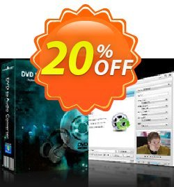 mediAvatar DVD to Audio Converter Coupon, discount mediAvatar DVD to Audio Converter imposing discount code 2020. Promotion: imposing discount code of mediAvatar DVD to Audio Converter 2020
