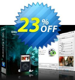 mediAvatar DVD to iPod Converter Coupon, discount mediAvatar DVD to iPod Converter formidable promotions code 2020. Promotion: formidable promotions code of mediAvatar DVD to iPod Converter 2020