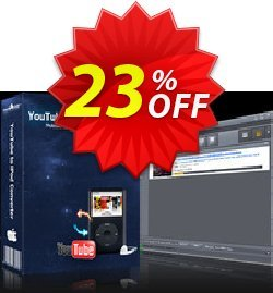 mediAvatar YouTube to iPod Converter for Mac Coupon, discount mediAvatar YouTube to iPod Converter for Mac stunning discount code 2020. Promotion: stunning discount code of mediAvatar YouTube to iPod Converter for Mac 2020