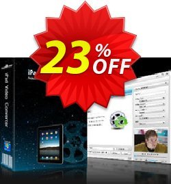 mediAvatar iPad Video Converter Coupon, discount mediAvatar iPad Video Converter stirring promotions code 2019. Promotion: stirring promotions code of mediAvatar iPad Video Converter 2019