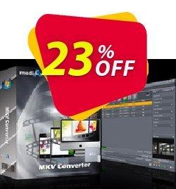mediAvatar MKV Converter Coupon, discount mediAvatar MKV Converter wondrous promotions code 2020. Promotion: wondrous promotions code of mediAvatar MKV Converter 2020
