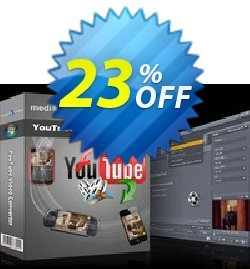 mediAvatar YouTube Video Converter Coupon, discount mediAvatar YouTube Video Converter big promo code 2019. Promotion: big promo code of mediAvatar YouTube Video Converter 2019