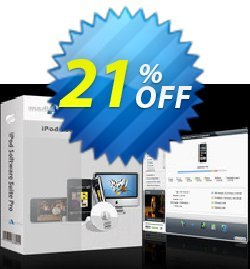 mediAvatar iPod Software Suite Pro for Mac Coupon, discount mediAvatar iPod Software Suite Pro for Mac special discount code 2020. Promotion: special discount code of mediAvatar iPod Software Suite Pro for Mac 2020