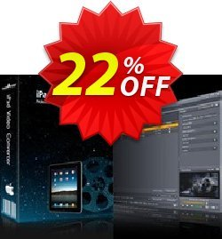 mediAvatar iPad Video Converter for Mac Coupon, discount mediAvatar iPad Video Converter for Mac big discount code 2019. Promotion: big discount code of mediAvatar iPad Video Converter for Mac 2019