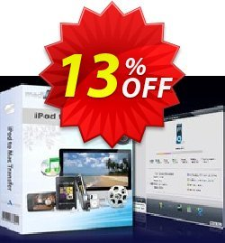 mediAvatar iPod to Mac Transfer Coupon, discount mediAvatar iPod to Mac Transfer staggering discount code 2020. Promotion: staggering discount code of mediAvatar iPod to Mac Transfer 2020