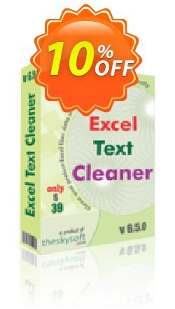 Excel Text Cleaner Coupon, discount 10%Discount. Promotion: big discounts code of Excel Text Cleaner 2019