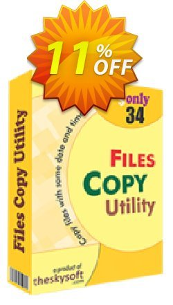 TheSkySoft File Copy Utility Coupon discount 10%Discount. Promotion: exclusive deals code of File Copy Utility 2021