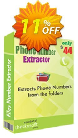 Files Phone Number Extractor Coupon, discount 10%Discount. Promotion: wonderful discount code of Files Phone Number Extractor 2019