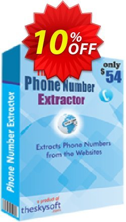 Internet Phone Number Extractor Coupon, discount 10%Discount. Promotion: imposing sales code of Internet Phone Number Extractor 2019