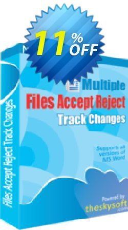 Multiple Files Accept & Reject Track Changes Coupon, discount 10%Discount. Promotion: best promotions code of Multiple Files Accept & Reject Track Changes 2019