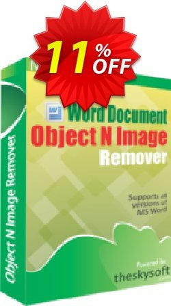 TheSkySoft Word Document Object & Image Remover Coupon discount 10%Discount. Promotion: hottest deals code of Word Document Object & Image Remover 2021