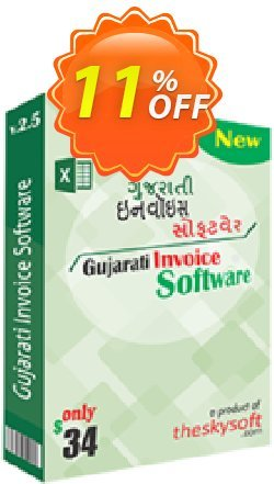 Gujarati Invoice Software Coupon, discount 10%Discount. Promotion: excellent discounts code of Gujarati Invoice Software 2019