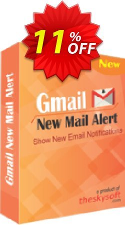 Gmail New Mail Alert Coupon, discount 10%Discount. Promotion: wonderful deals code of Gmail New Mail Alert 2019