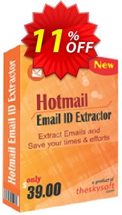 TheSkySoft Hotmail Email ID Extractor Coupon discount 10%Discount. Promotion: awful discount code of Hotmail Email ID Extractor 2021