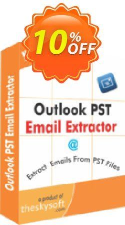 Outlook PST Email Extractor Coupon, discount 10%Discount. Promotion: imposing promotions code of Outlook PST Email Extractor 2019