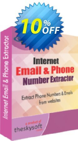 Internet Email and Phone Number Extractor Coupon, discount 10%Discount. Promotion: wonderful promotions code of Internet Email and Phone Number Extractor 2019