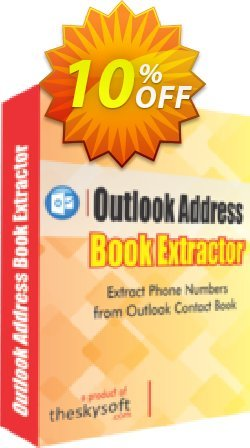 Outlook Address Book Extractor Coupon, discount 10%Discount. Promotion: awful sales code of Outlook Address Book Extractor 2019