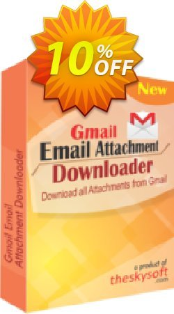 Gmail Email Attachment Downloader Coupon, discount 10%Discount. Promotion: marvelous deals code of Gmail Email Attachment Downloader 2019