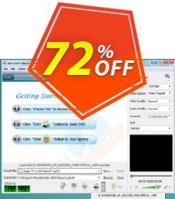 idoo DVD Ripper Coupon, discount 70% off (Ann Video Converter +idoo DVD Ripper Pro). Promotion: wondrous sales code of idoo DVD Ripper 2020