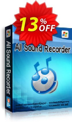 All Sound Recorder XP Coupon, discount All Sound Recorder XP stunning promo code 2021. Promotion: stunning promo code of All Sound Recorder XP 2021