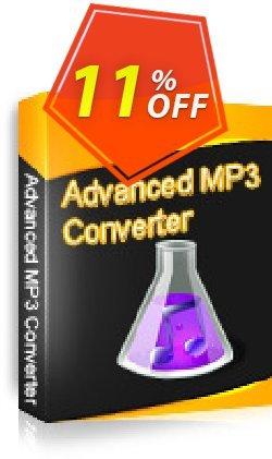 Advanced MP3 Converter Coupon, discount Advanced MP3 Converter stirring sales code 2019. Promotion: stirring sales code of Advanced MP3 Converter 2019