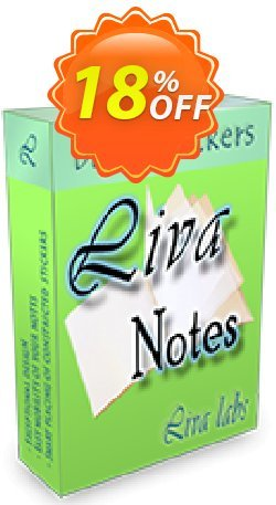 Liva Notes Coupon, discount Liva Notes Promotion. Promotion: stirring deals code of Liva Notes 2020