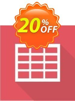 Virto Ajax Data Grid Web Part for SP2007 Coupon, discount Virto Ajax Data Grid Web Part for SP2007 marvelous deals code 2019. Promotion: marvelous deals code of Virto Ajax Data Grid Web Part for SP2007 2019