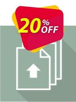 Virto Bulk File Upload for SP2007 Coupon, discount Virto Bulk File Upload for SP2007 excellent deals code 2019. Promotion: excellent deals code of Virto Bulk File Upload for SP2007 2019