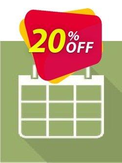 Virto Calendar Pro for SP2010 Coupon, discount Virto Calendar Pro for SP2010 super sales code 2019. Promotion: super sales code of Virto Calendar Pro for SP2010 2019