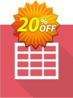 Virto Ajax Data Grid Web Part for SP2010 Coupon, discount Virto Ajax Data Grid Web Part for SP2010 imposing promo code 2019. Promotion: imposing promo code of Virto Ajax Data Grid Web Part for SP2010 2019