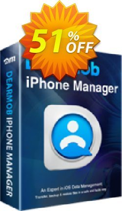 DearMob iPhone Manager - 1 Year Mac Coupon, discount DEARMOB-AFF-SPECIAL. Promotion: marvelous promotions code of DearMob iPhone Manager - 1 Year 1Mac 2019