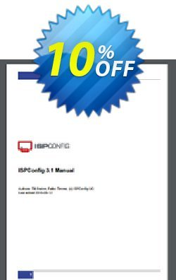 ISPConfig 3.1 Manual Coupon, discount ISPConfig 3.1 Manual hottest promotions code 2020. Promotion: hottest promotions code of ISPConfig 3.1 Manual 2020