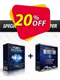 Forex Diamond EA + Forex Trend Detector Coupon, discount Forex Diamond EA + Forex Trend Detector formidable discount code 2019. Promotion: formidable discount code of Forex Diamond EA + Forex Trend Detector 2019