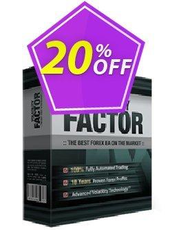Volatility Factor EA Coupon, discount Volatility Factor EA special deals code 2019. Promotion: special deals code of Volatility Factor EA 2019