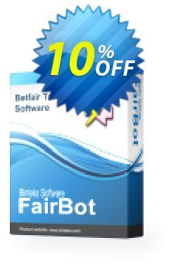 FairBot - 6 months access  Coupon, discount FairBot (6 months access) exclusive discounts code 2020. Promotion: exclusive discounts code of FairBot (6 months access) 2020