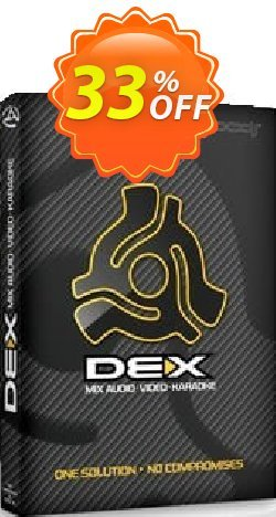 PCDJ DEX 3 Coupon, discount PCDJ DEX 3 (Audio, Video and Karaoke Mixing Software for Windows/MAC) awesome offer code 2020. Promotion: exclusive deals code of PCDJ DEX 3 (Audio, Video and Karaoke Mixing Software for Windows/MAC) 2020