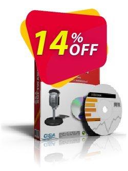 GSA Radio Stream Recorder Coupon, discount GSA Radio Stream Recorder imposing sales code 2019. Promotion: imposing sales code of GSA Radio Stream Recorder 2019